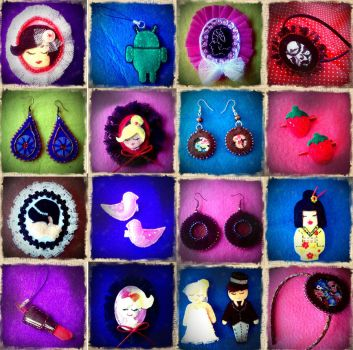 Felt crafts by SoraMP