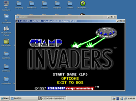 ReactOS Champ Invaders by mugenfighter
