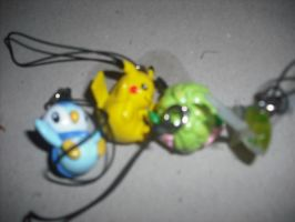 FRENCH POKEMON KEYRINGS by roisincrowe11