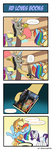 Pony 4 Koma - Rainbow Dash Looooves Books by Reikomuffin