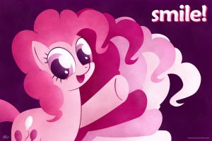 Pinkie Pie - Smile! by kefkafloyd