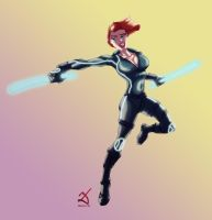 Black Widow by Debarsy
