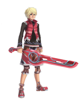Shulk and Monado by 4rca