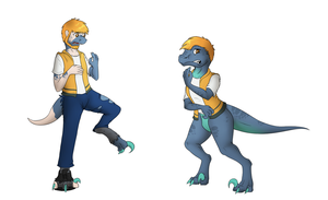 Raptor tf (commission) by Tomek1000