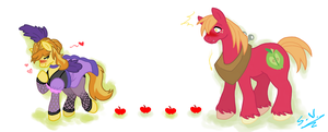-:MLP:- Everypony's Gay For Braeburn by Vilshanka