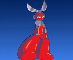 Animated Cutman by ToneyHadnotJr