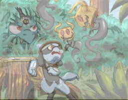 Team Flora and The Forrest P3 by spotty-bee