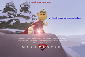Mare of Steel snow mountain poster. by M00N-CHASER