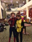 Peter Parker and Kitty Pryde AAC 2014 by wolfgirl23427890