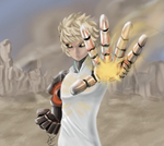 One Punch Man - Genos by Zer0Mechan1sm