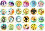 Buttons 2 by Willow-San