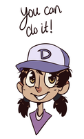Supprotive Clem doodle! by Rad-Pax