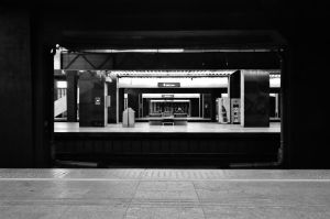 endless train station. by marmittes