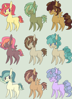 [Palettes] #26 - 6/9 Open by SeashellAdopts