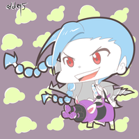 League of Legends - Jinx ( Chibi ) by Hakures