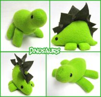 Fleece Dinosaurs by mintconspiracy