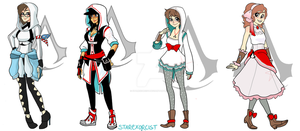 Modern Assassin Designs 01 by starexorcist