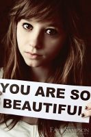 You are so beautiful by RomanceOnTheTarmac