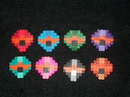 Halo Magnets by PracticallyGeeky