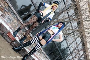 Panty and Stocking - The Police by rynoki