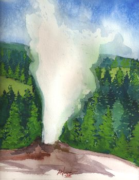 Old Faithful by bustermaximus