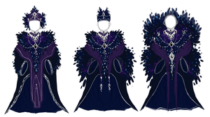 Raven Robes by Toaster-Omlette