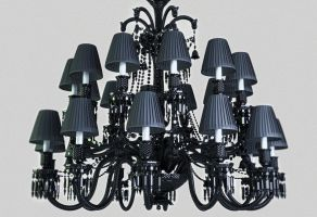 Baccarat Zenith chandelier by CrowInHand