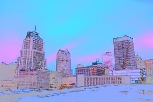 Color sketch from Nikon D7100 Cleveland, Ohio by TomKilbane