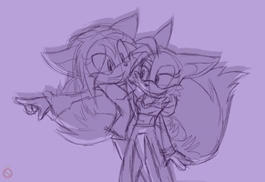 Sonic Channel CM: Tailsko and Alix by shadowhatesomochao