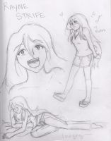 Rayne Sketchdump by Storm-Torrent