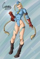 Cammy Whites SFA3 collab 8D by KaenDD