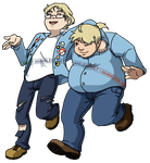 blue collar brothers by honorless