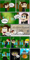 Kingdom Hearts Remake Comic by ChavisO2