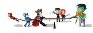Avenger: Tug of War by dropeverythingnow