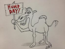 Hump Day Camel by MatthewHunter