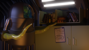 The Alien's Room by DylserX