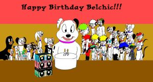 Happy Birthday Belchic by Trey-Vore