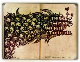 Think and Feel by sweeter-than-reality