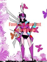 TF Animated Mariposa by Number by fembotsunite