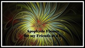 Apophysis Flame Pack of 60 by MothersHeart