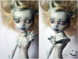 MH Lagoon OOAK Doll Repaint 1 by kamarza