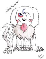Sesshomaru Puppy by Kaze-Breeze-Katakage