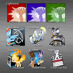 Pony Graphics App Icons by GepMalakai