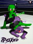 Masked - Double Bodyscissors by PlayboyVampire