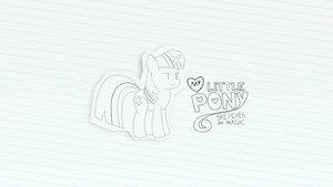 My Little Pony : Sketches are Magic by biel56789