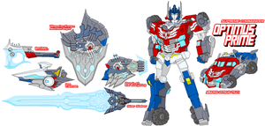 Autobot Optimus Prime by Tyrranux