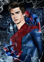 The Amazing Spiderman by Jeanne-Lui