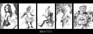 Alice compilation series one by RocketPancake