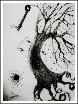 tree of fate.. by BLACKleadIsland