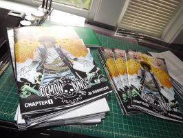 DEMON KINGS ISSUE 1 (printed) by theCEOofDEATH